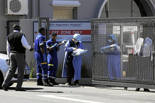 Netcare's Jacques du Plessis says Covid-19 admissions at the group's hospitals are currently low. File photo.