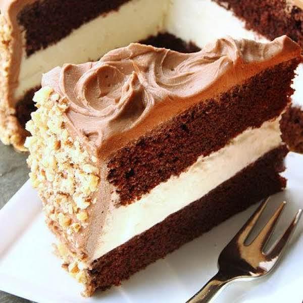 Dressel's Chocolate Fudge Whipped Cream Cake Recipe