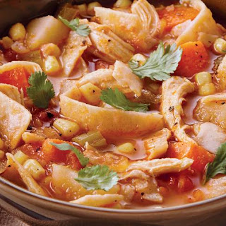 Slow-Cooker Spicy Chicken Stew.