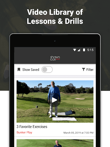 Shawn Cox Golf Academy - screenshot