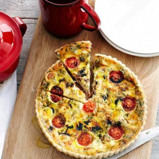 Torta Salata with Ricotta, Pancetta & Balsamic
