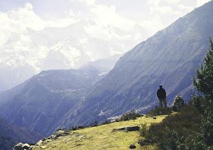 Photo: Blick in die Weite von Tengboche aus