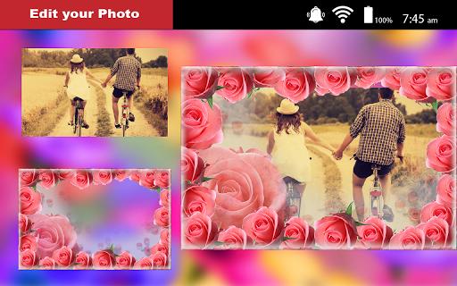 Love Flower Photo Frame new 2018  screenshots 2