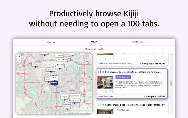 Mapview for Kijiji™