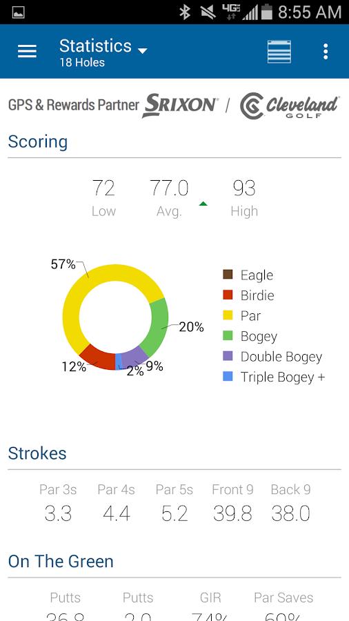 GolfNow - GPS Rangefinder - screenshot