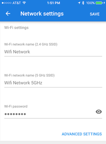Change your Wi-Fi network password in the Fiber app - Google