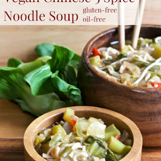 Vegan Chinese 5-Spice Noodle Soup