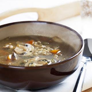 5. Mushroom Barley Soup