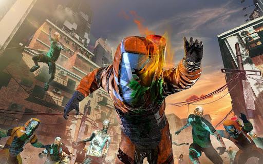 ZOMBIE SHOOTING SURVIVAL: Offline Games apkdebit screenshots 23