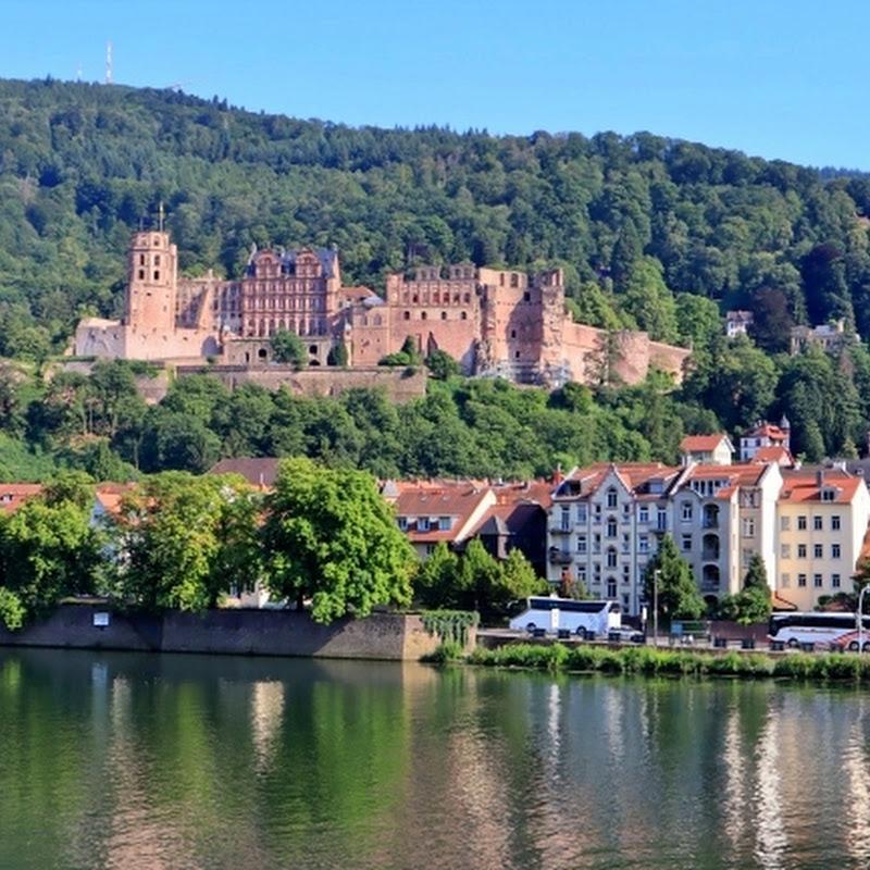 廃墟でありながらロマンたっぷりの美しいドイツ・ハイデルベルク城を訪ねて