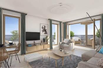 Appartement 3 pièces 61,9 m2