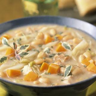 Mixed Veggie and White Bean Soup
