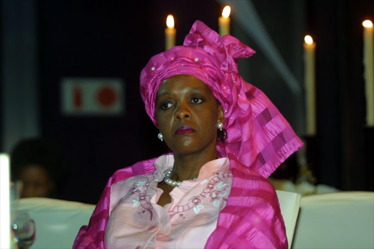Zimbabwe's first lady Grace Mugabe. File photo.