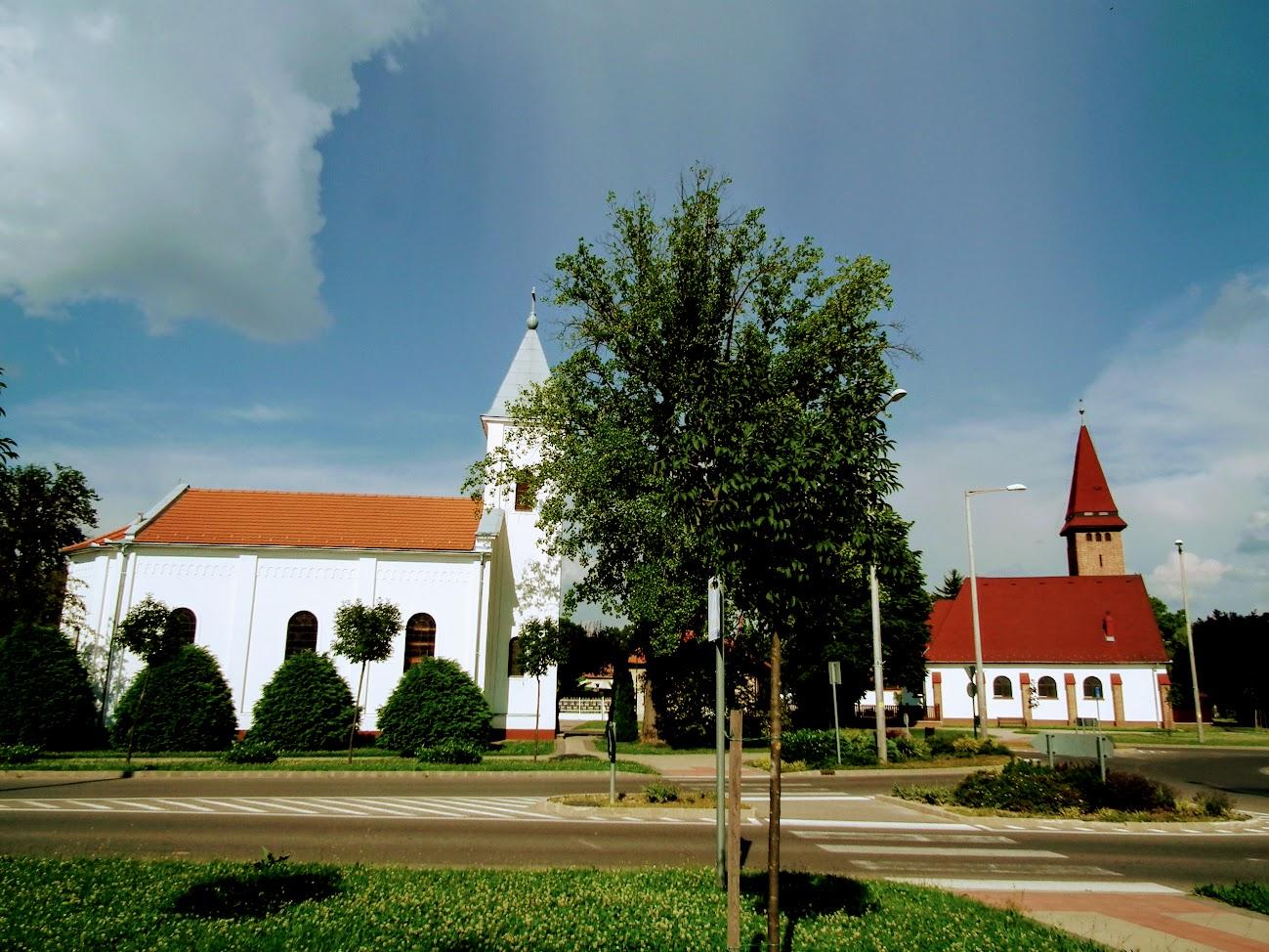 Nagyatád - református templom