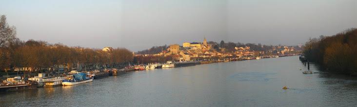 Photo: Panoramique des Quais de Seine et de la vieille ville