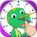 Telling Time - Clock Games icon
