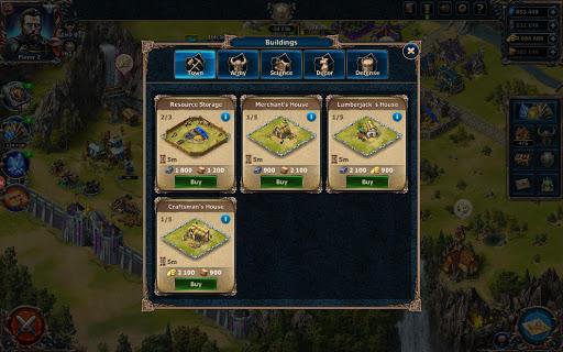 CITADELS ud83cudff0  Medieval War Strategy with PVP screenshots 23