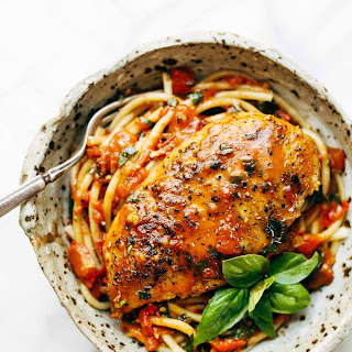 Chicken Breast Tomato Sauce Pasta Recipes.