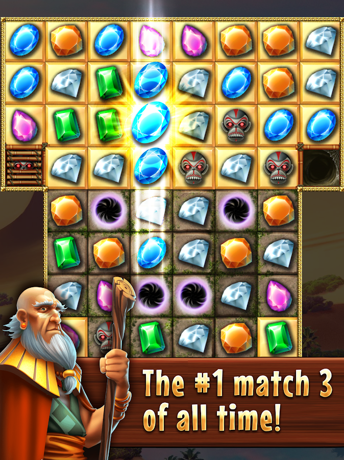Best Match 3 Games Jewel Quest- screenshot
