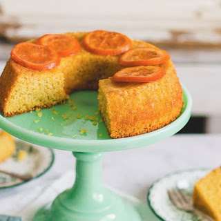 How to Make Orange Almond Cake Dessert Recipe