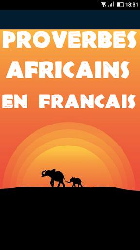 Proverbes Africains En Franu00e7ais 1.21 screenshots 2