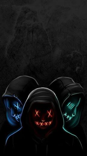 Led Purge Mask Wallpaper HD Apk 2