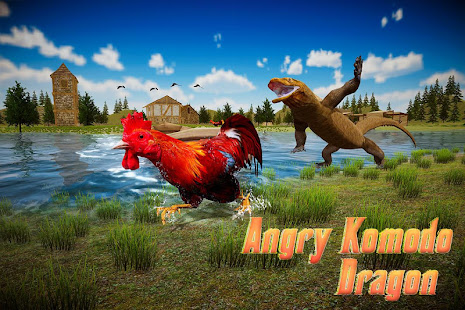 Angry Komodo Dragon: Epic RPG Survival Game 10