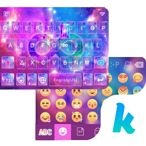 Cosmic Star Emoji KikaKeyboard 個人化 App LOGO-硬是要APP