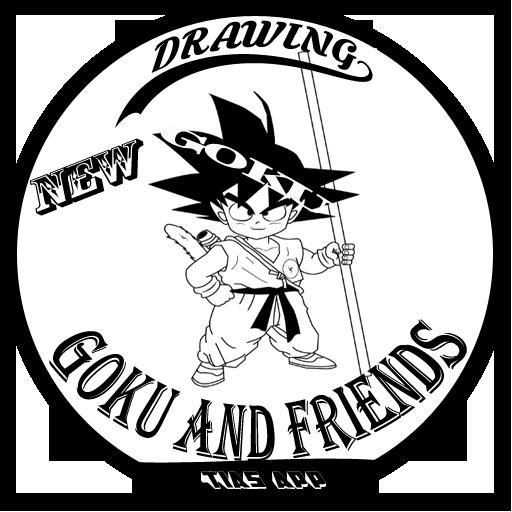 New Drawing Easy Goku And Friends 1.0 screenshots 1
