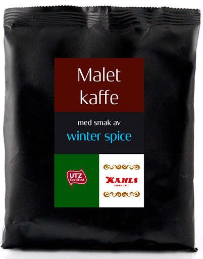 Winter spice malet kaffe – Kahls