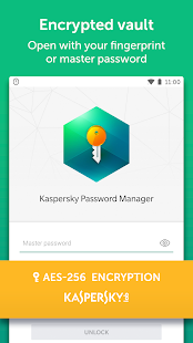Kaspersky Password Manager & Secure Data Vault Screenshot