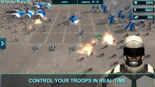 Clash Moon RTS  captures d'écran 1