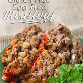 Eggless, Gluten Free Meatloaf