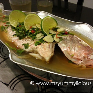 Thai Steamed Fish Lemongrass Recipes