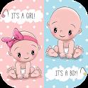 👶 Baby Shower Invitation Maker 👶 icon