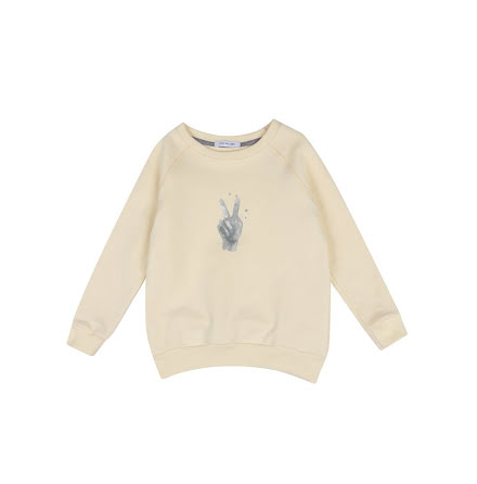 One We Like Rag Peace Sweatshirt