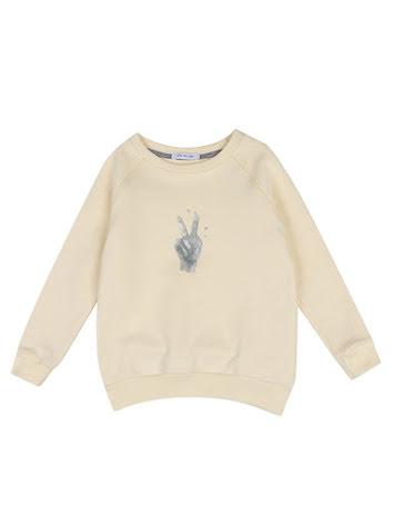 One We Like Rag Peace Sweatshirt