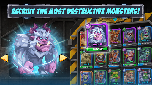 Tactical Monsters Rumble Arena -Tactics & Strategy 1.10.8 screenshots 11