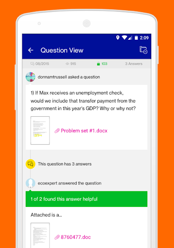 Course hero homework help app