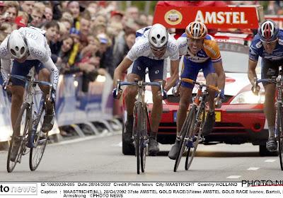 Op deze dag 18 jaar geleden: Boogerd en Armstrong bijten hun tanden stuk op dekselse Italiaan in Amstel Gold Race