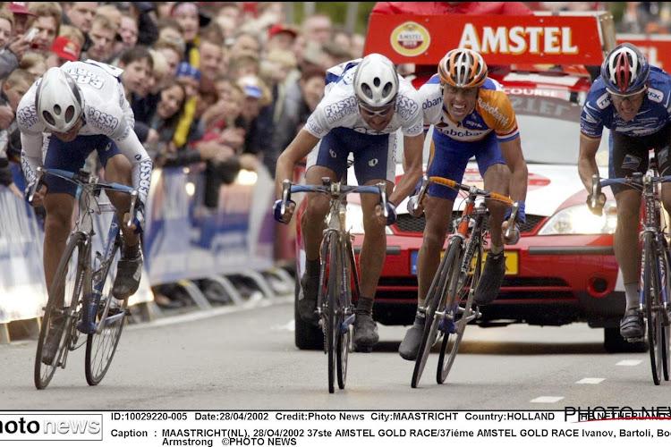🎥 Op deze dag 18 jaar geleden: Boogerd en Armstrong bijten hun tanden stuk op dekselse Italiaan in Amstel Gold Race