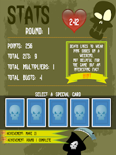 Dead Simple 21 - Card Game- screenshot thumbnail