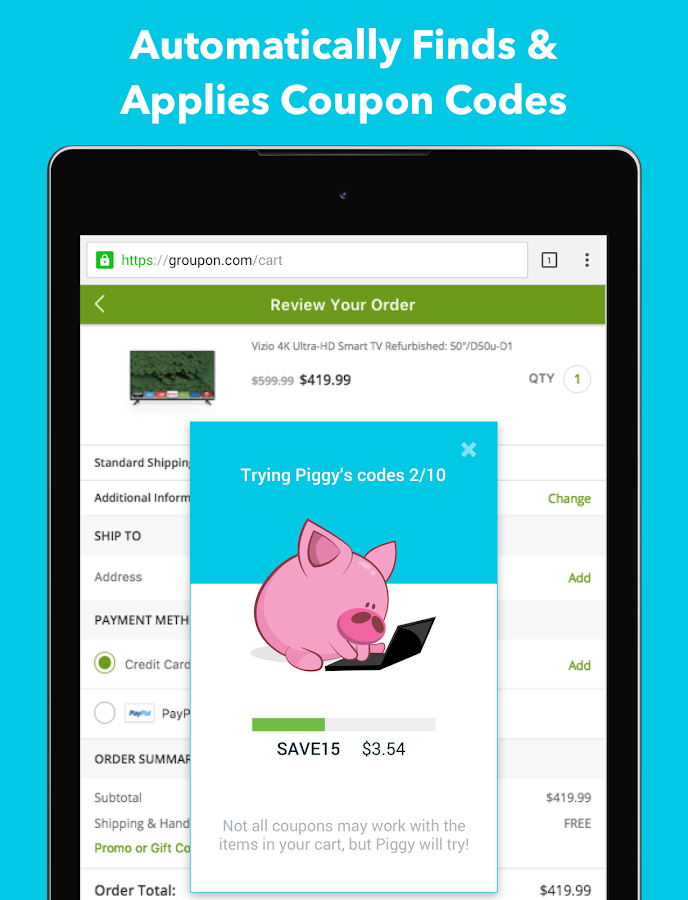 Piggy - Coupons and Cash Back- screenshot