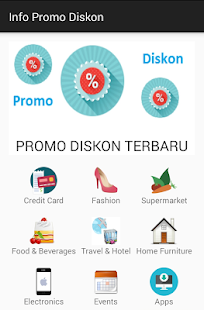 Info Promo Diskon- gambar mini screenshot