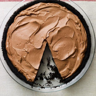 No Bake Chocolate Pie.