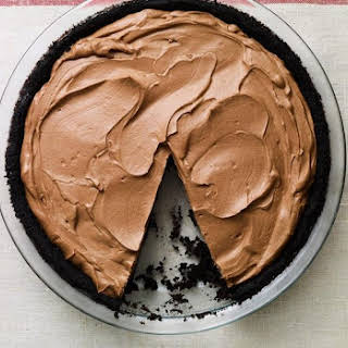 No Bake Chocolate Pie.