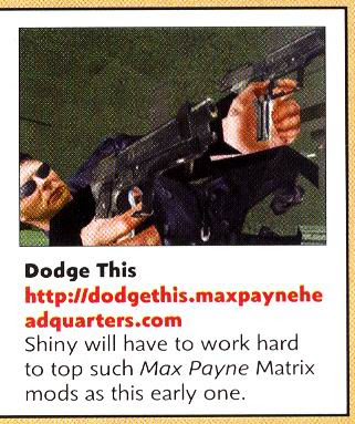Dodge This PC Gamer UK, November 2001, pg. 107