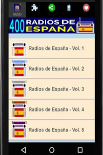 400 Internet Radio Stations in Spain - náhled