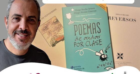 El Convento de la Victoria acogerá el encuentro con el poeta Diego Reche
