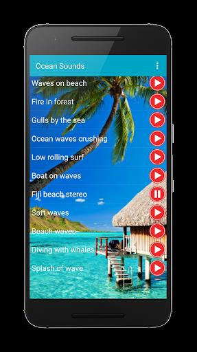 Ocean sound for sleep ringtone